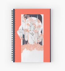 Slipping Spiral Notebook