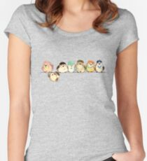 Baebsae Birds Women's Fitted Scoop T-Shirt