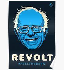 Bernie Sanders Revolt Poster