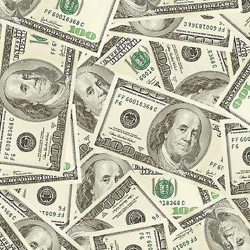 100 dollar bills by Llamarama13