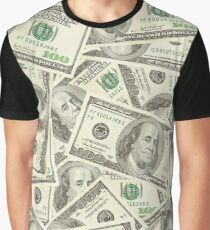 100 dollar bills Graphic T-Shirt