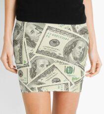 100 dollar bills Mini Skirt