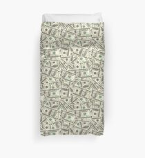100 dollar bills Duvet Cover