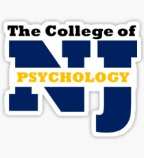 TCNJ Psychology Sticker