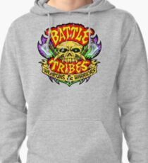 Battle Tribes Skull Logo (Distressed) Pullover Hoodie