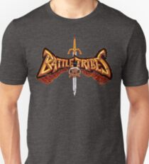 Battle Tribes Sword Logo (Distressed) Unisex T-Shirt