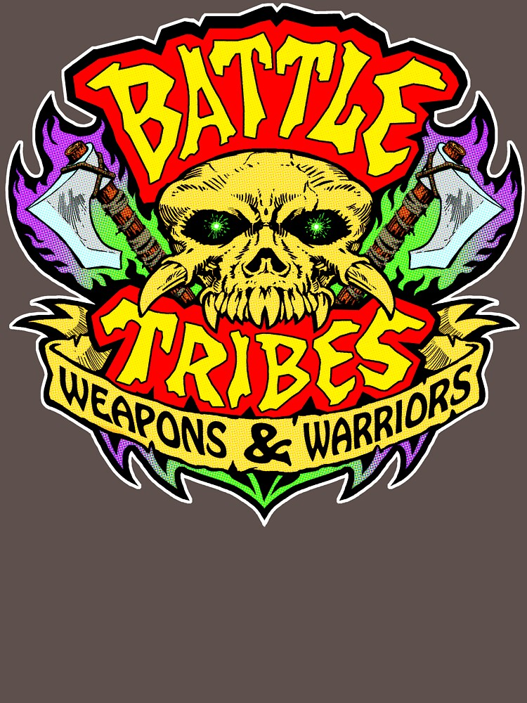 Battle Tribes Skull Logo by spymonkey