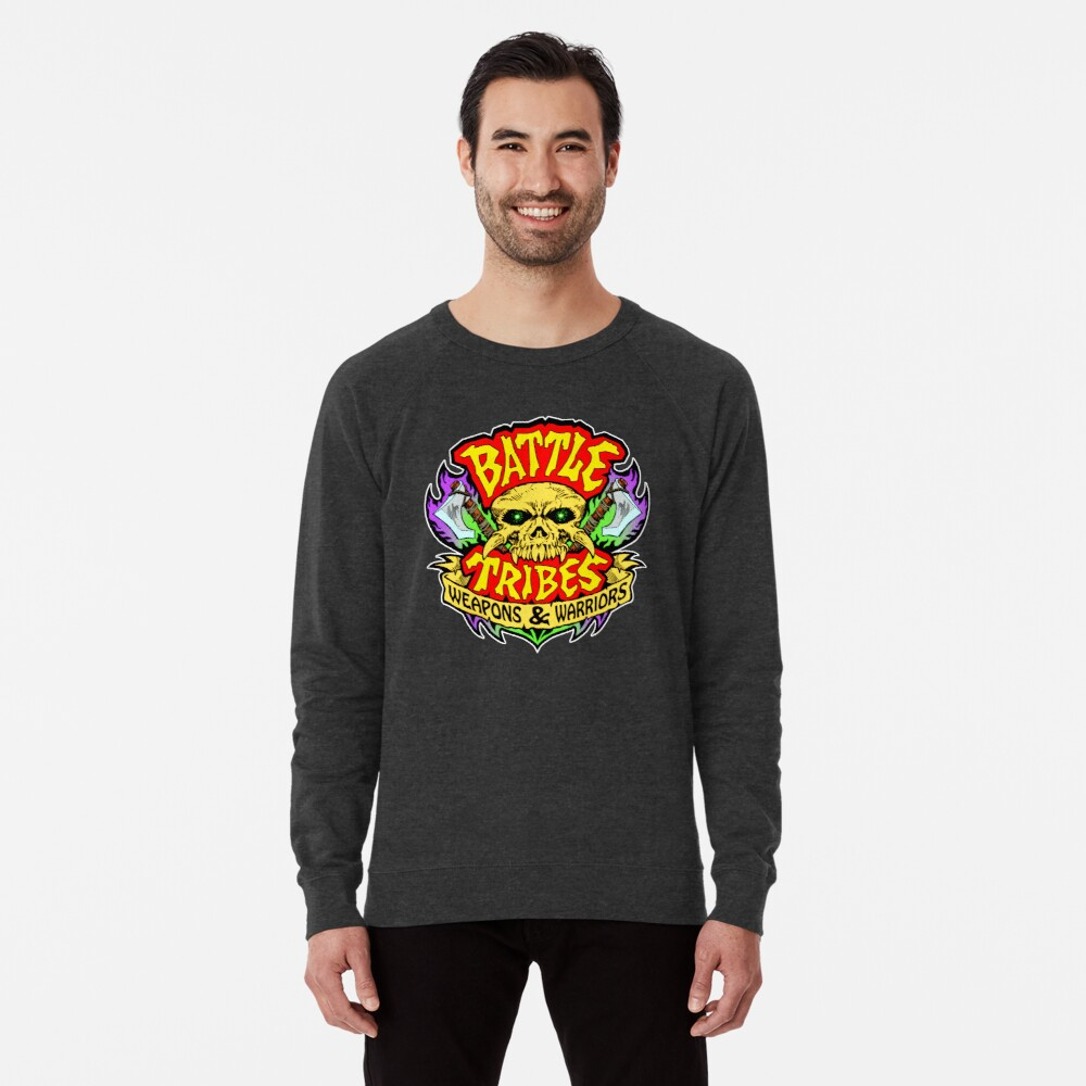 Battle Tribes Skull Logo Lightweight Sweatshirt