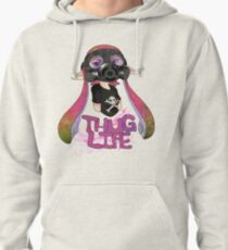 Squid AND a Kid -Pink- Pullover Hoodie