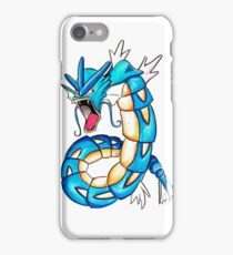 Gyarados watercolor iPhone Case/Skin