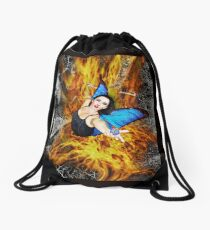 Always with Me, Always with You Drawstring Bag