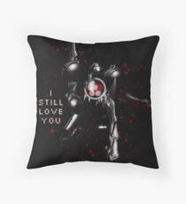 I Still Love You Metroid Throw Pillow