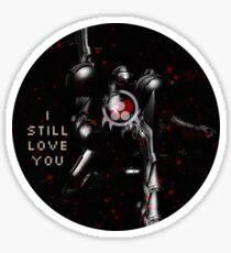 I Still Love You Metroid Sticker