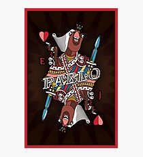 The Pablo Poster Photographic Print