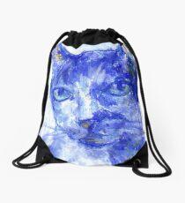 Eye Contact (pastel) Drawstring Bag