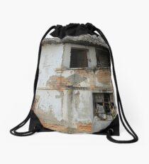 Ruined Building Drawstring Bag