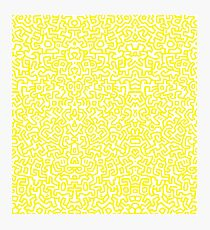 Keith Wall Yellow - Select Your Colour Photographic Print