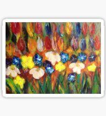 Flower Power Sticker
