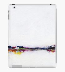 Frozen Abstract Landscape iPad Case/Skin