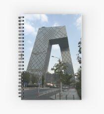 CCTV Building Beijing Spiral Notebook