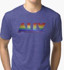Ally Galaxy Tri-blend T-Shirt