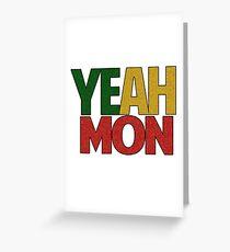 Yeah Mon! Jamaican Slang Greeting Card