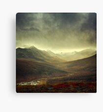 North Klondike River Valley after a storm Canvas Print