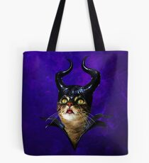 Meowleficent Tote Bag