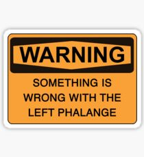 left phalange c Sticker