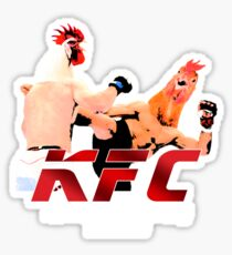 Kentucky Fighting Chicken Sticker