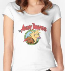 Angry Beavers Women's Fitted Scoop T-Shirt