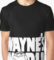 Wayne's World (HD vector graphic) Graphic T-Shirt