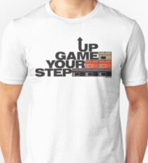 Step Your Game Up Sneakerhead by AiReal Apparel Unisex T-Shirt