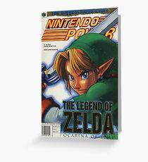 Nintendo Power - Volume 114 Greeting Card