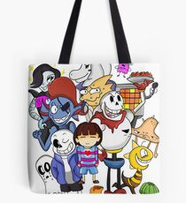 Undertale Family Tote Bag
