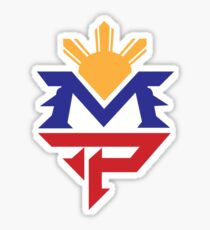 Manny MP Pacquiao philippinische Sun Flag Sticker