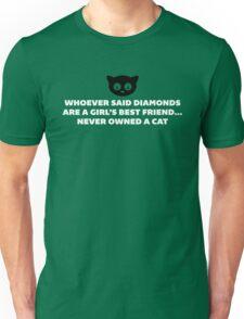 Woman's Best Friend Cat Funny Quote Unisex T-Shirt