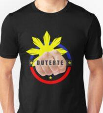 Duterte Campaign Design Illustration T-Shirt