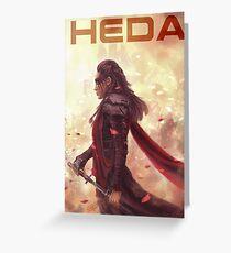 HEDA Greeting Card