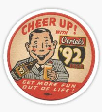 Coasters Beer 2 Sticker