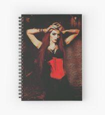 Vampire Compelled Spiral Notebook