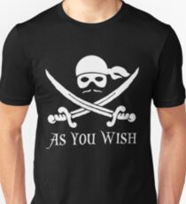 Princess Bride - Dread Pirate Roberts Unisex T-Shirt