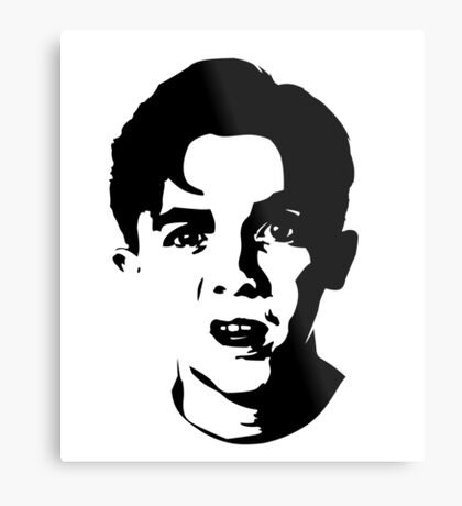 Malcolm The Middle Metal Print