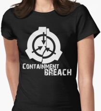 SCP Breach Womens Fitted T-Shirt