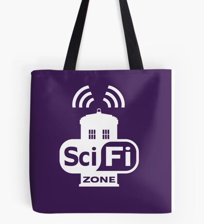Sci-Fi ZONE White Tote Bag