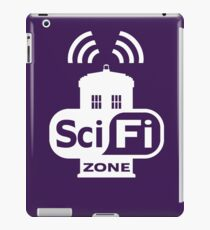 Sci-Fi ZONE White iPad Case/Skin
