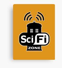 Sci-Fi Zone 2 Canvas Print