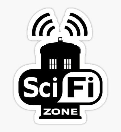 Sci-Fi Zone 2 Sticker