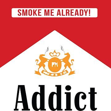 Smoke addict by Downyart