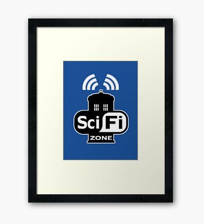 Sci Fi ZONE Framed Print